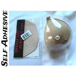 Breast Adhesive Cups Size DD & Lift Tape